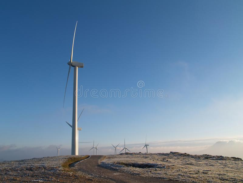 Wind Mill stock images
