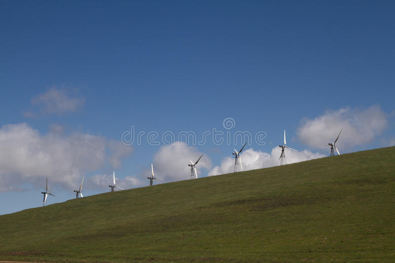 Download Wind Mill Farms In Northern California Stock Image - Image of 580, blade: 39509135