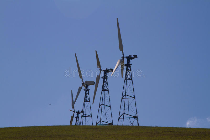 Download Wind Mill Farms In Northern California Stock Image - Image of mills, alternative: 39509155