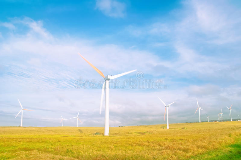 Download Wind mills stock photo. Image of clouds, electricity - 10407096