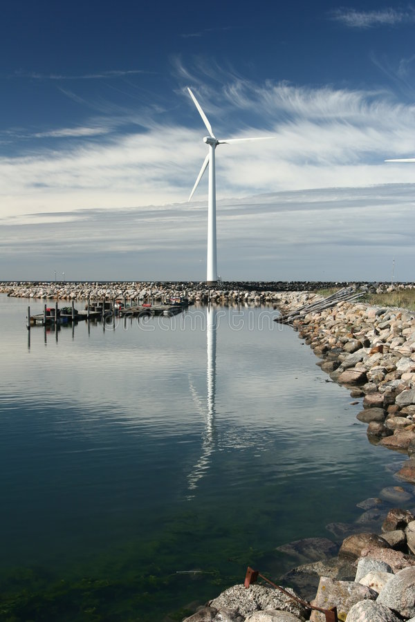 Wind Mills Stock Photos