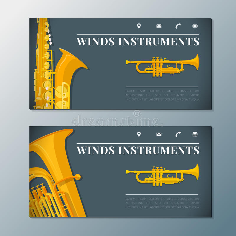 Classical Music Concert Violin Vertical Music Flyer