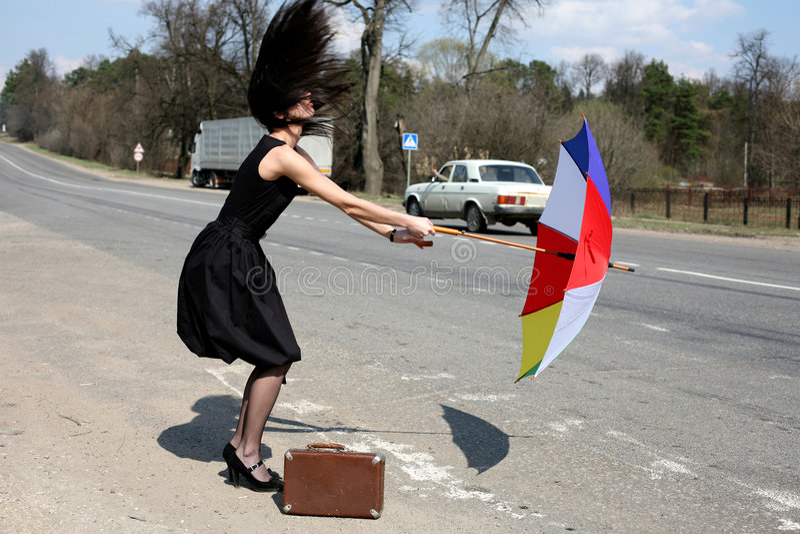 Wind, orkaan royalty-vrije stock afbeelding