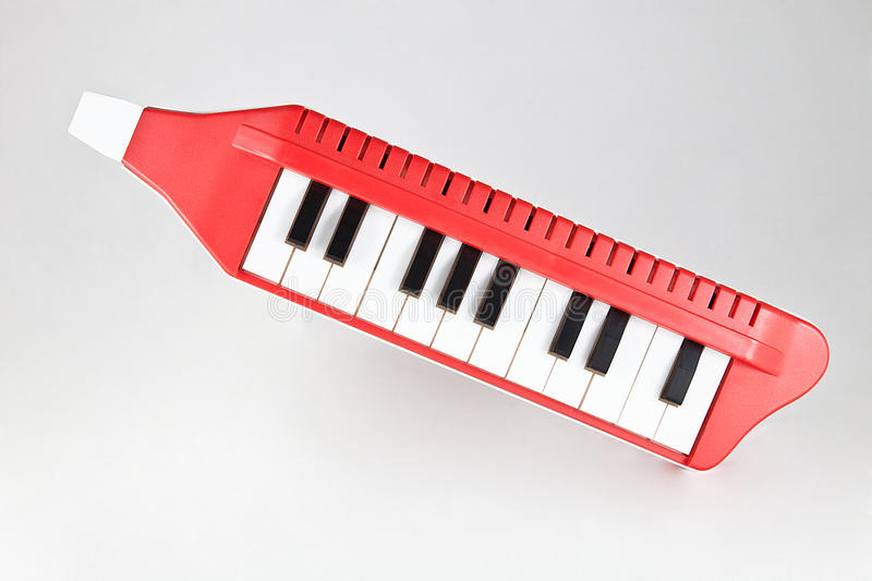 Wind piano. Toy for children royalty free stock image