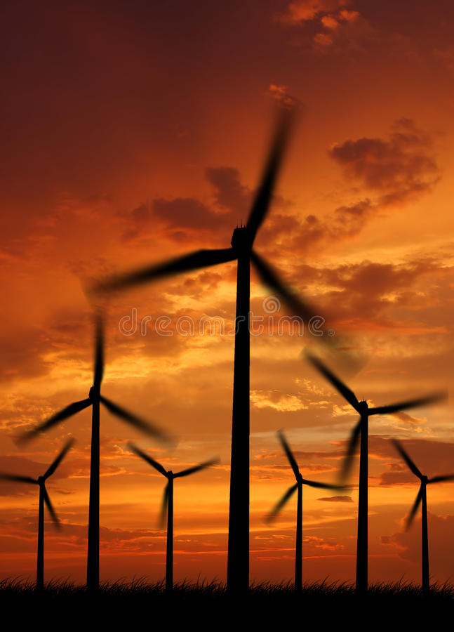 Download Wind power stock photo. Image of landscape, natural, generate - 14888814