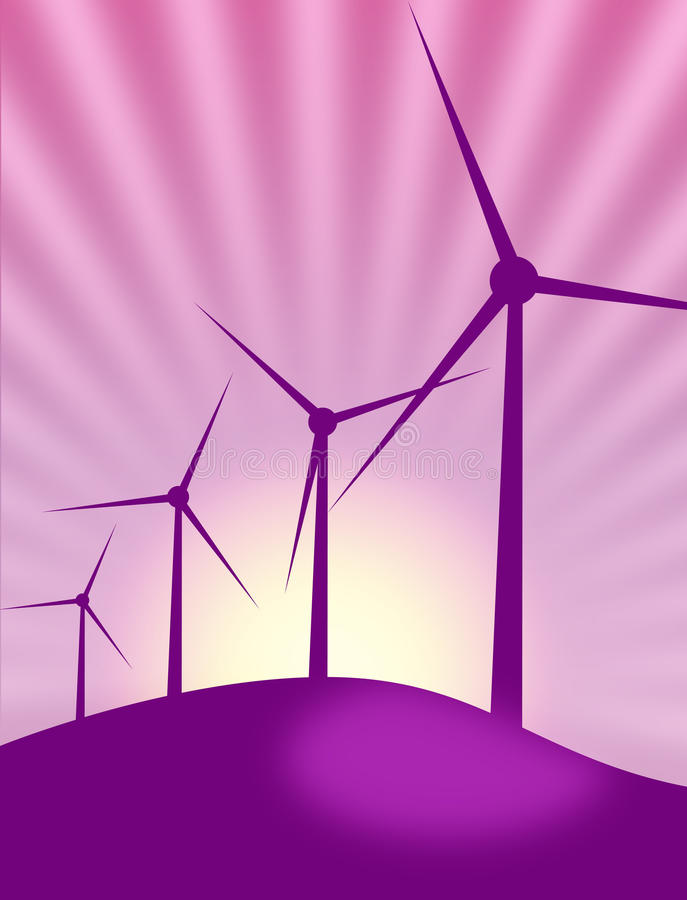 Download Wind power stock vector. Illustration of background, globe - 15826794