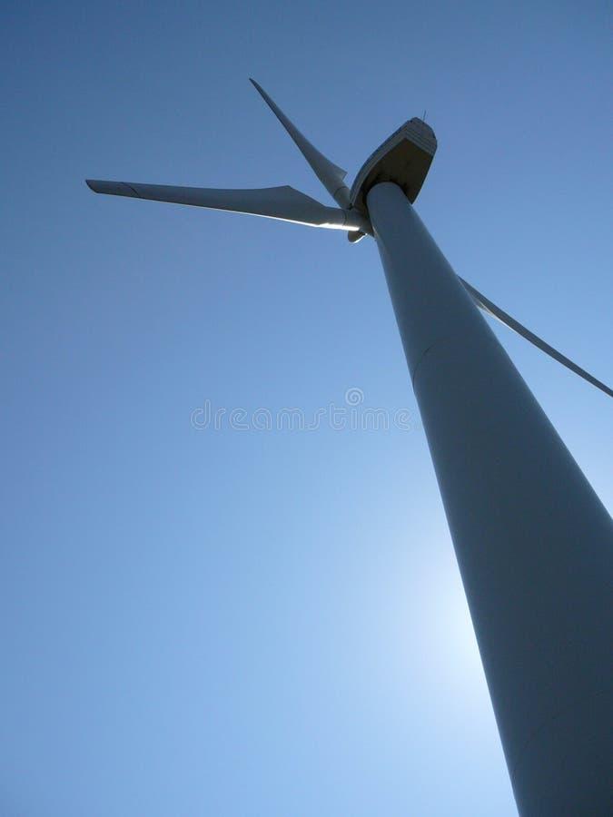 Wind power stock image