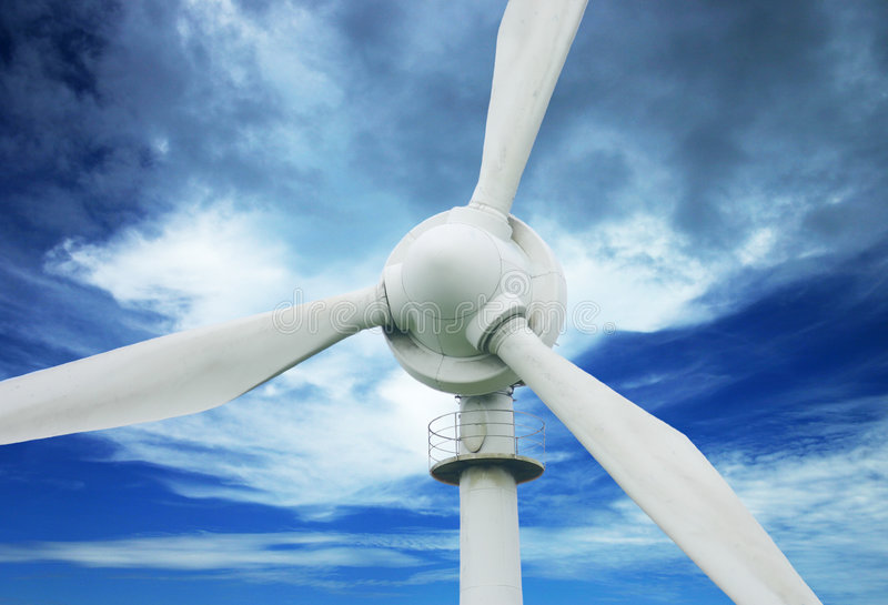 Download Wind Power stock photo. Image of wind, blades, turbine, electricity - 76840