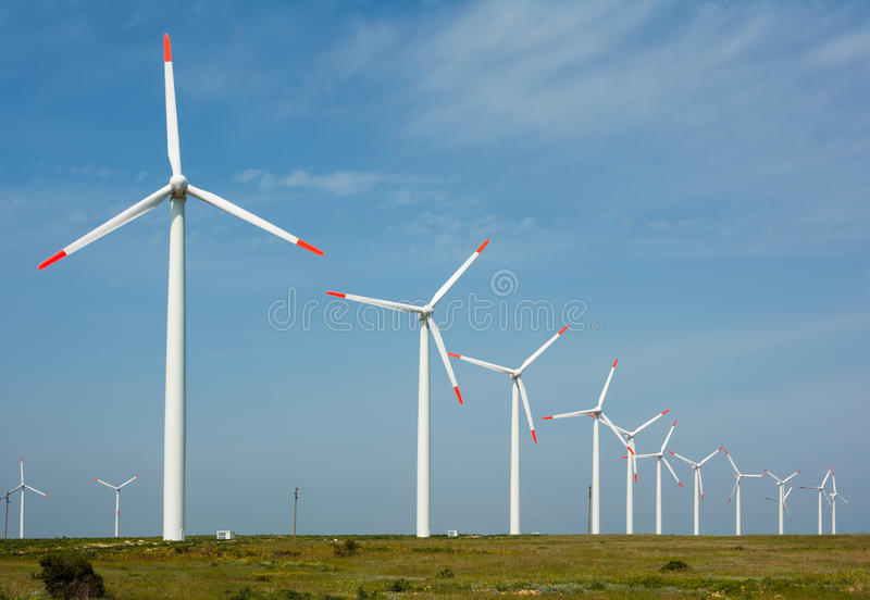 Download Wind Power Generation Royalty Free Stock Images - Image: 9451839