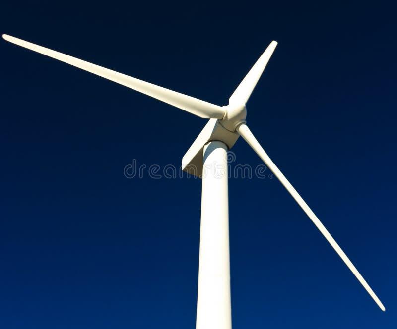 Wind power generator stock image