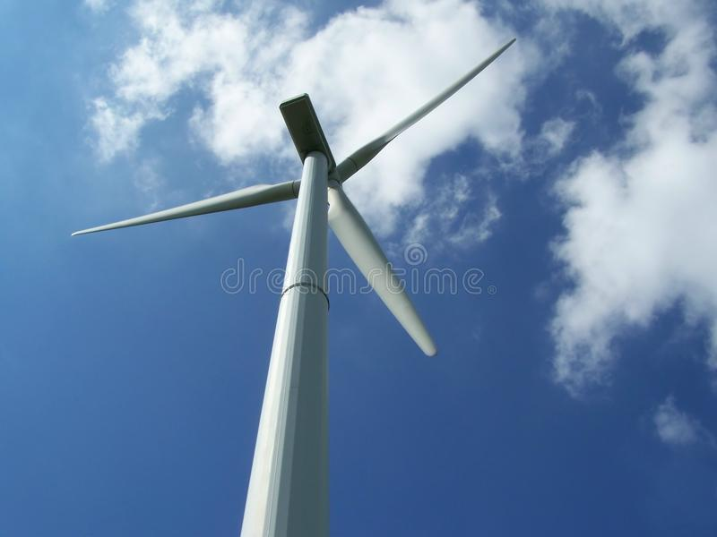 Wind Power Plant stock photography