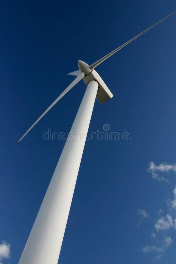 Wind power station stock photos