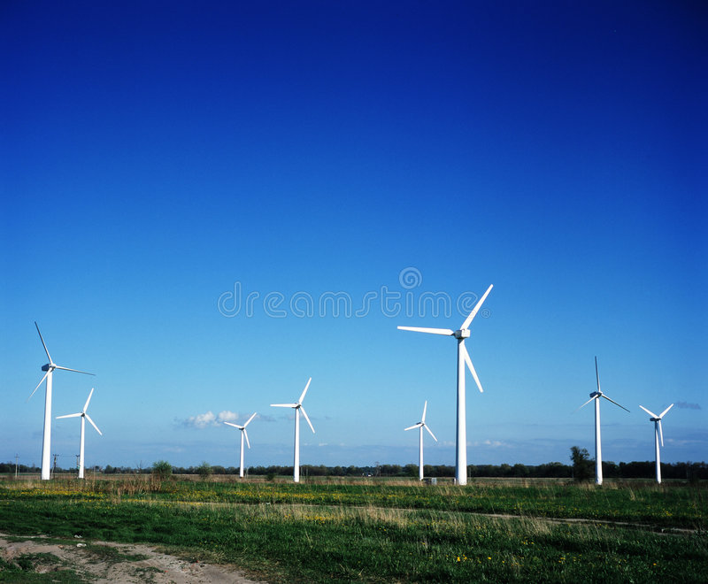 Download Wind power stations stock photo. Image of height, cleanliness - 2176694