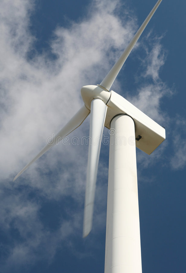 Wind Power Turbine Energy Green royalty free stock photos