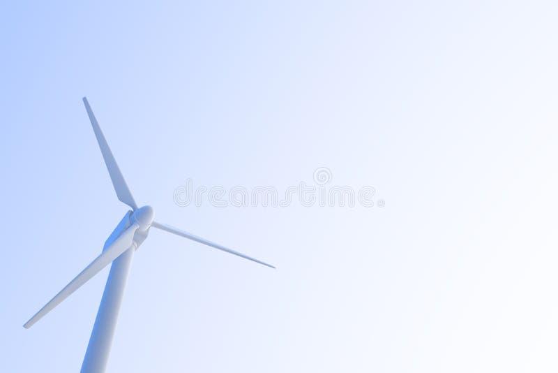 Wind Power / Wind turbines royalty free illustration
