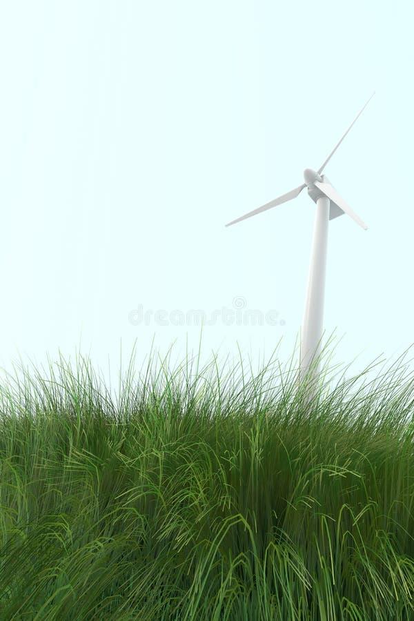 Wind Power / Wind turbines vector illustration