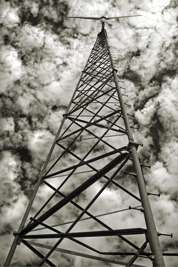 Download Wind Powered Generator Stock Photography - Image: 12328432