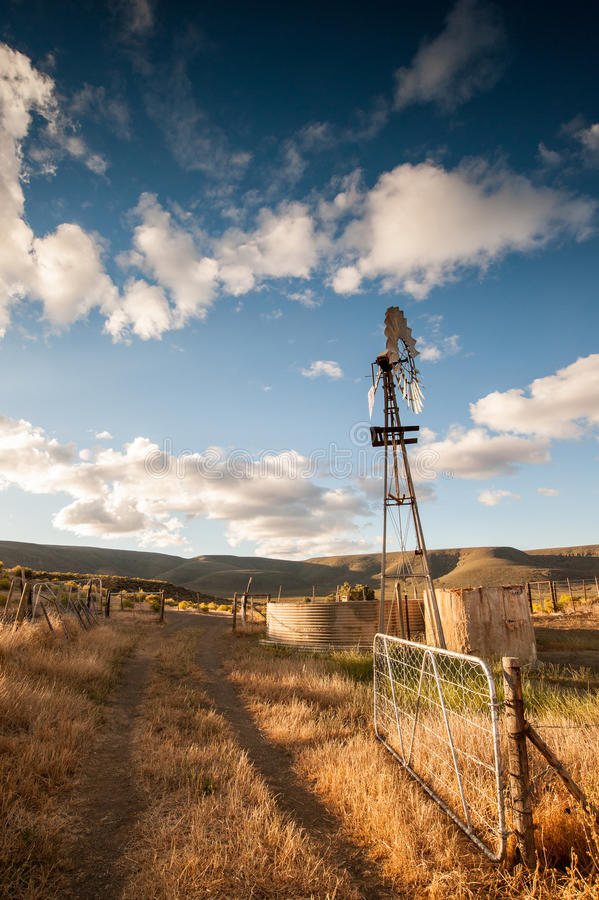 Wind Pump Royalty Free Stock Photo Image 35265595