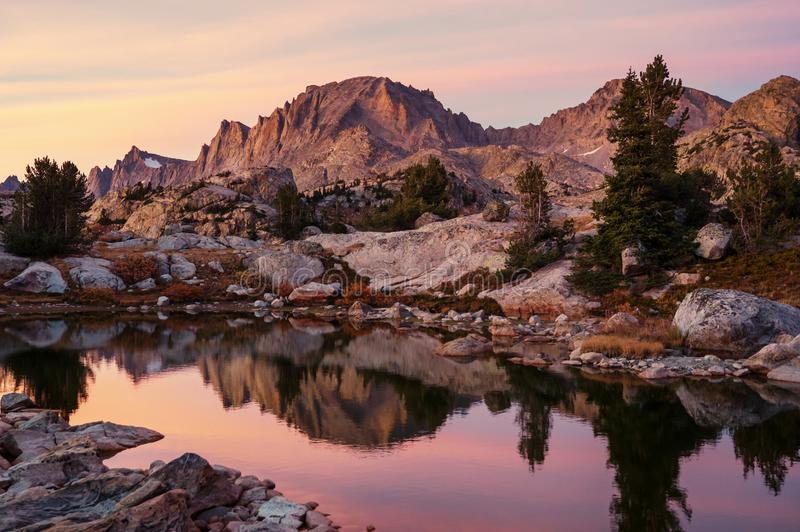 Wind river range royalty free stock photo