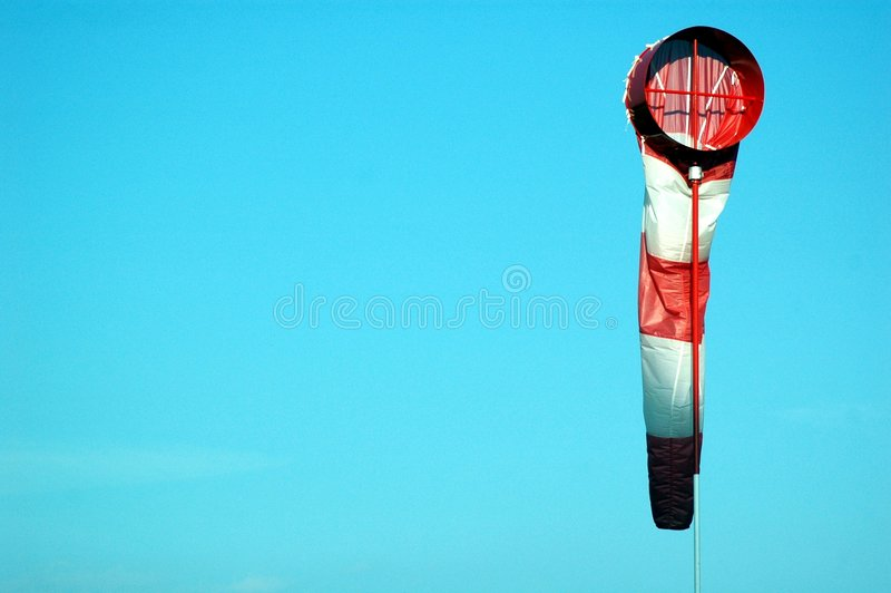 Download Wind sock stock photo. Image of sock, stripes, wind, airport - 189156