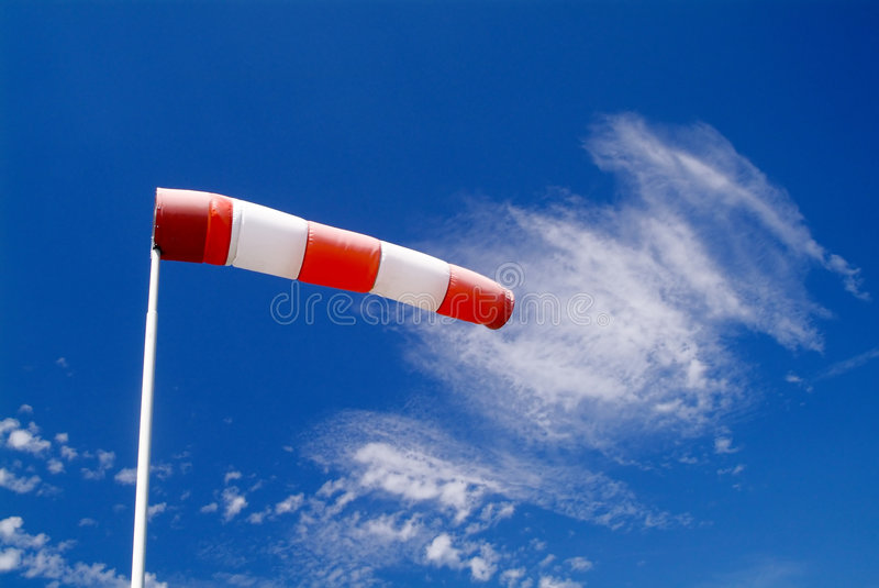 Download Wind sock stock image. Image of accident, stripe, blown - 1975535