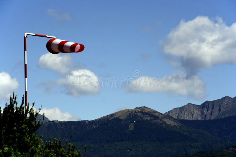 Wind sock stock photo