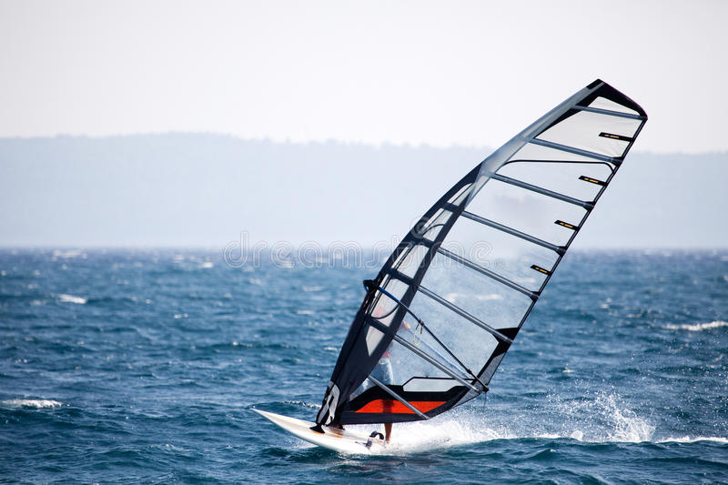 Wind-Surfen stockbild