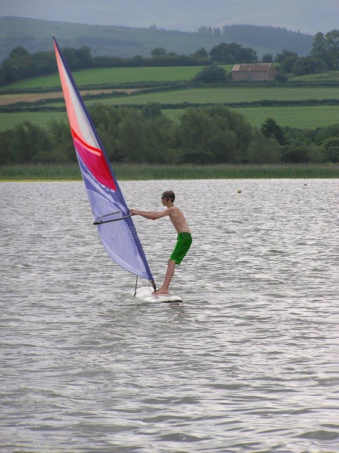 Wind-Surfer stockbild