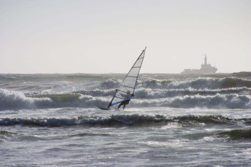 Wind Surfer 2 stock image