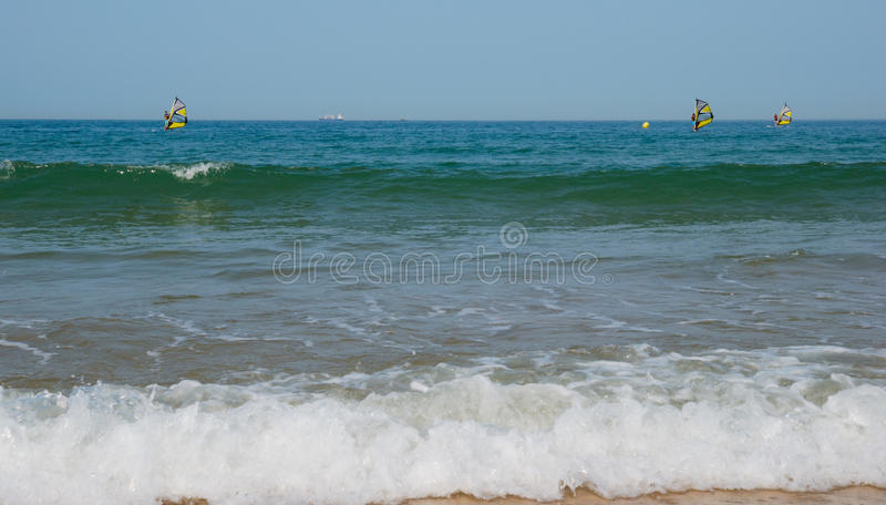 Download Wind surfing stock photo. Image of surf, sporty, puerto - 25854156