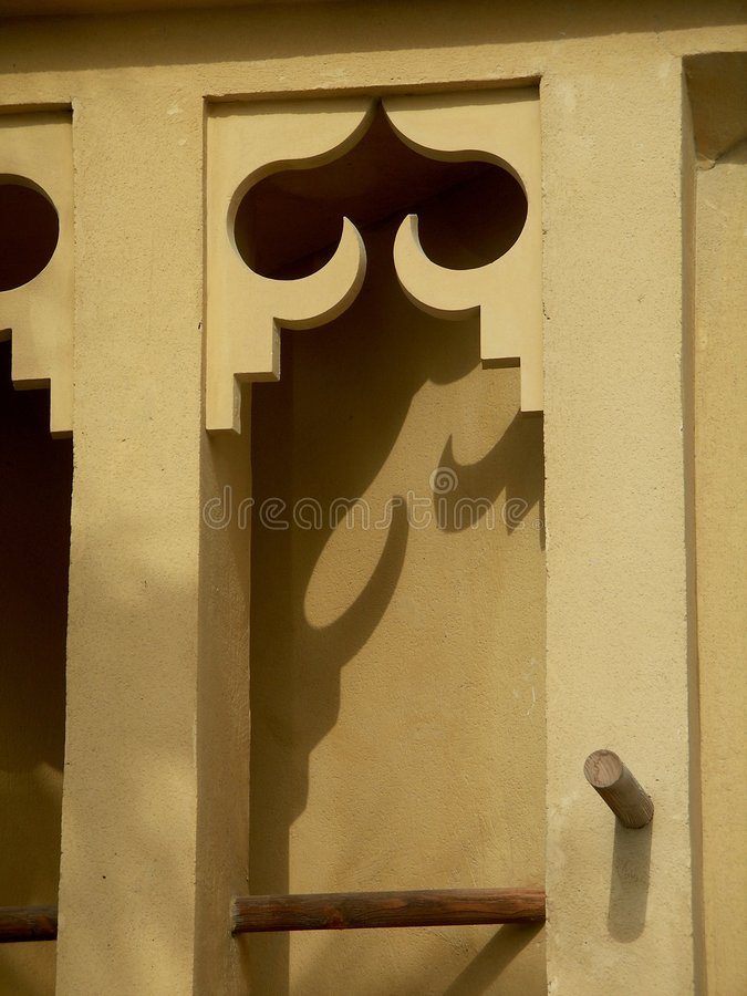 Wind tower royalty free stock image