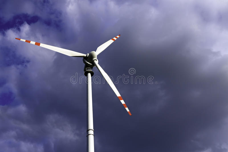 Wind Turbin stock images