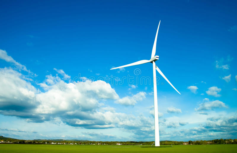 Download Wind Turbine stock image. Image of nature, industry, climate - 14318843