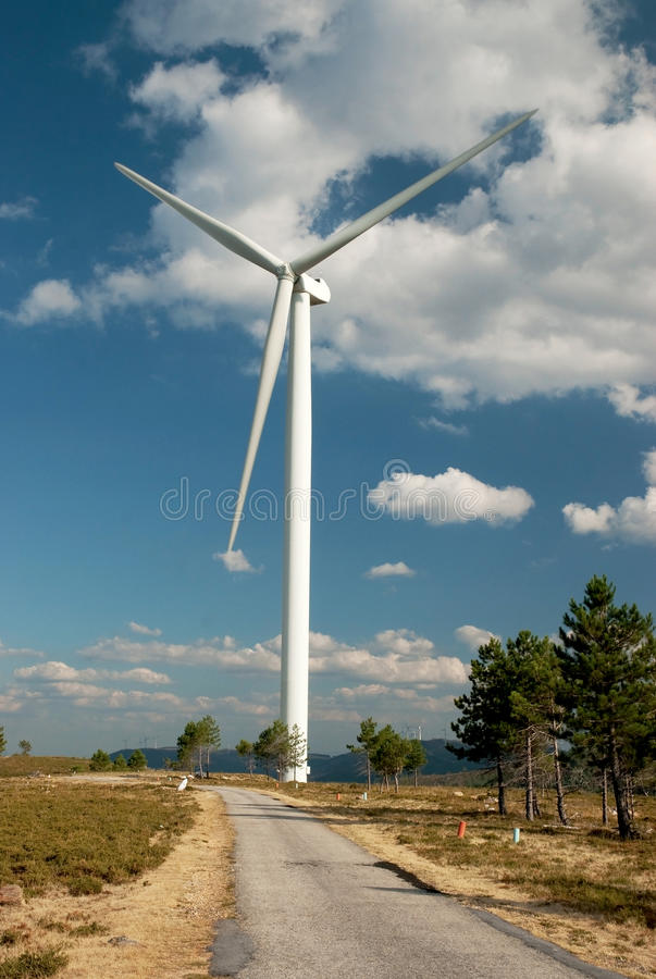 Download Wind turbine stock photo. Image of energy, generate, conservation - 16389588
