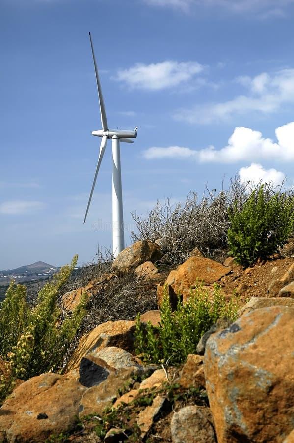 Wind Turbine 17 stock image