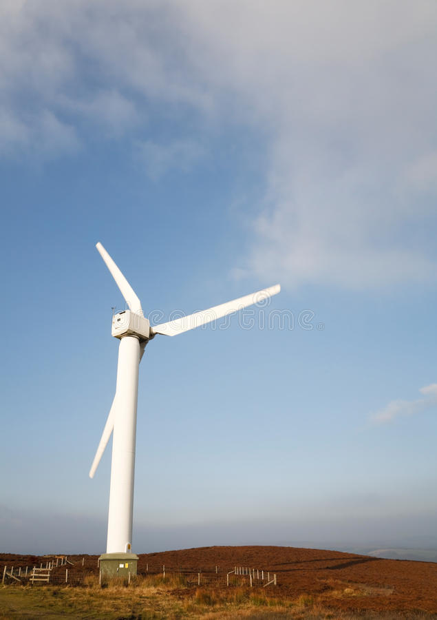 Download Wind turbine stock photo. Image of british, aerogenerator - 17933290