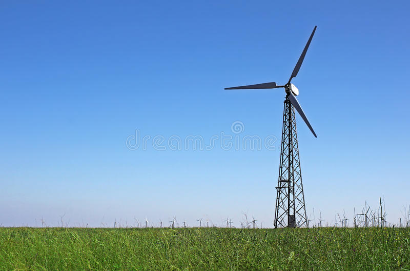 Wind Turbines Power Station Stock Photo Image Of Mills