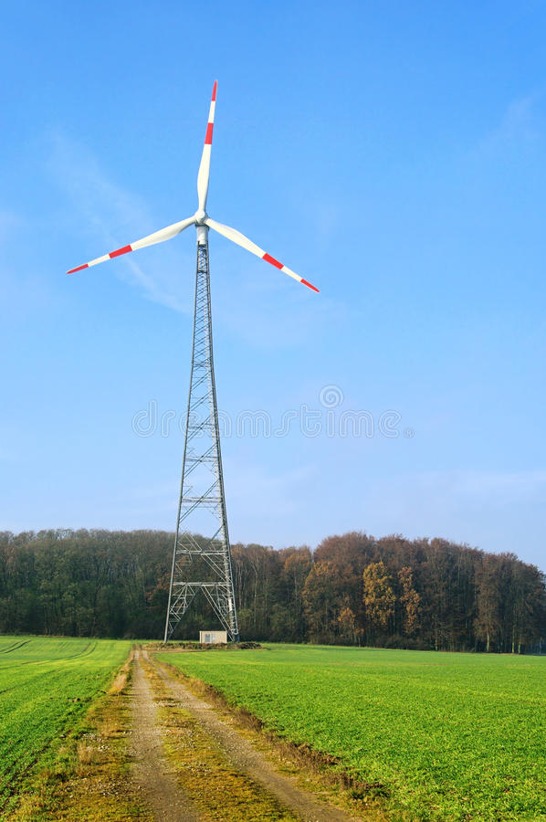 Download Wind turbine stock image. Image of electricity, energy - 23875077