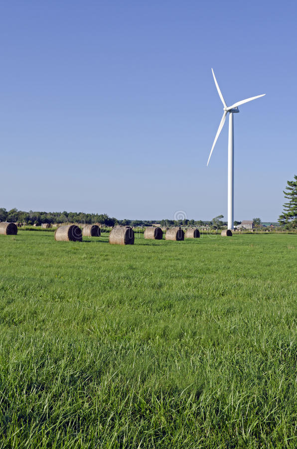 Download Wind turbine stock photo. Image of canada, field, rural - 24110400