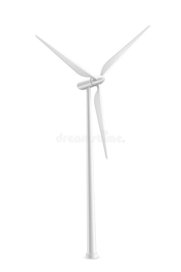 Download Wind Turbine stock vector. Illustration of watt, industry - 24548975
