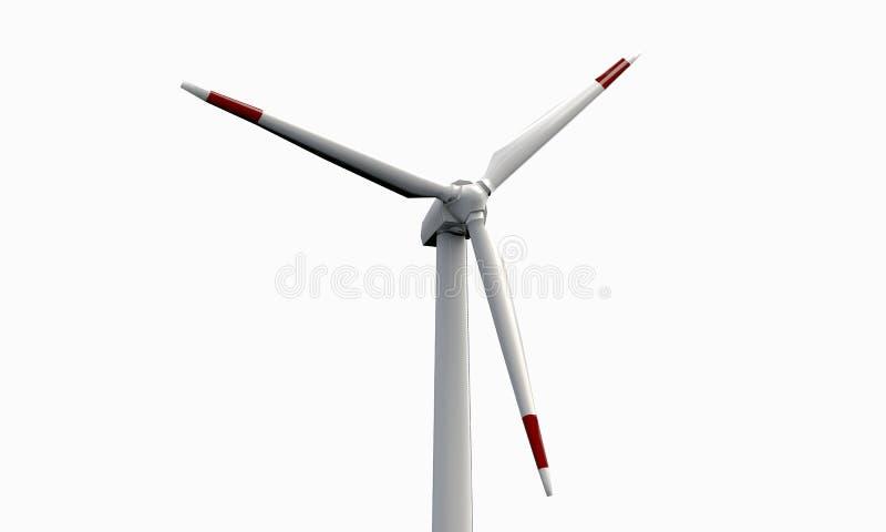 Wind turbine stock illustration