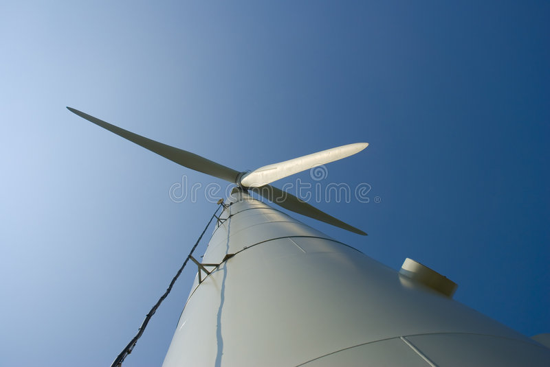 Download Wind Turbine From Bottom Stock Photography - Image: 2303852