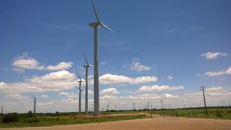 Wind Turbine, Wind Farm, Windmill, Field stock photos