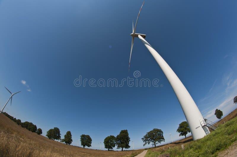 Download Wind Turbine On Fisheye Royalty Free Stock Images - Image: 20571579
