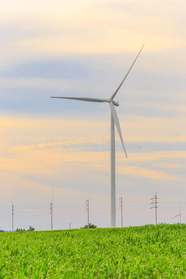 Download Wind Turbine Generator stock image. Image of object, environment - 33551841