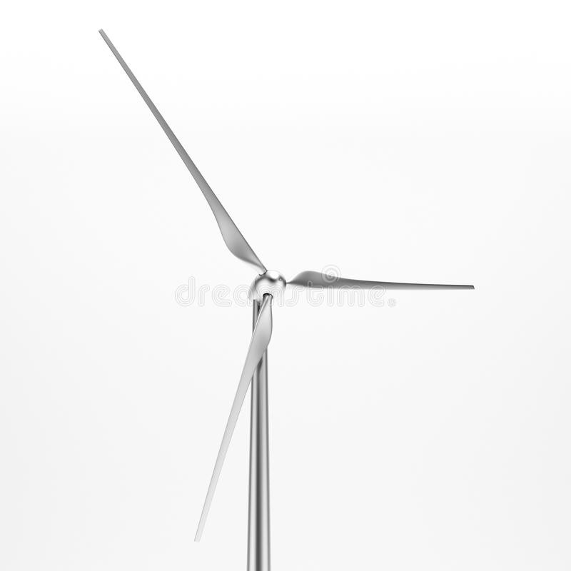 Download Wind Turbine Isolated  Close-up Stock Image - Image: 27625507