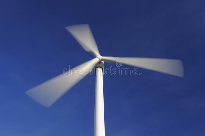 Download Wind turbine in movement stock photo. Image of spinning - 22948382