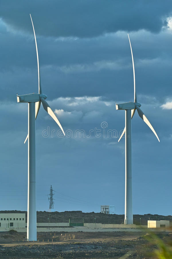 Download Wind turbine power station stock photo. Image of green - 19749092