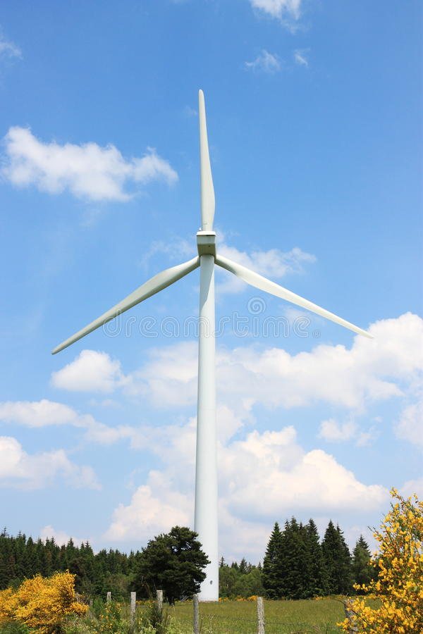 Download Wind Turbine Summer stock photo. Image of environment - 15320836