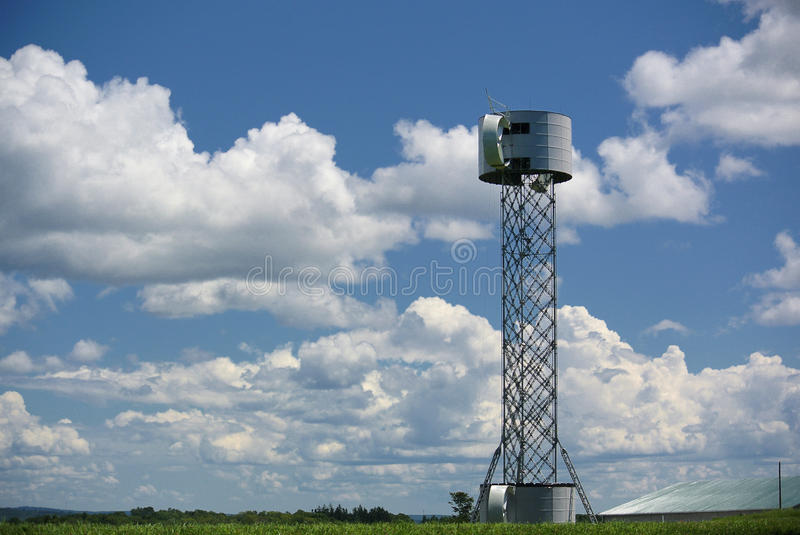 Download Wind Turbine Under Construction Royalty Free Stock Photos - Image: 32726178